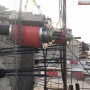 山西省大同市張拉機27噸穿心式千斤頂穿心前卡式千斤頂