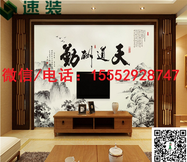 广西柳州速装/3D背景墙厂家/零费用/加盟代理