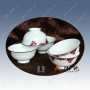 景德镇促销礼品餐具订制公司 促销礼品定做陶瓷碗印商标logo