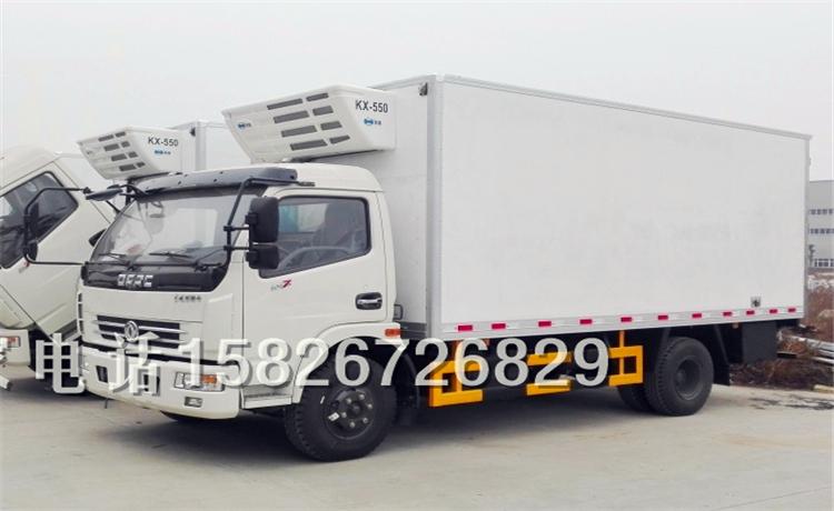 新报道:银川江铃鲜肉冷藏车-厂家价格