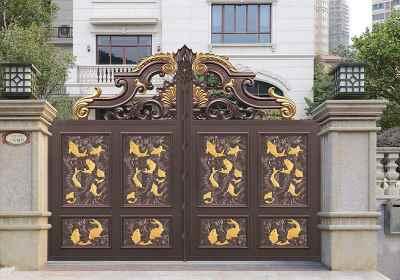 欧式儿童乐园楼大门