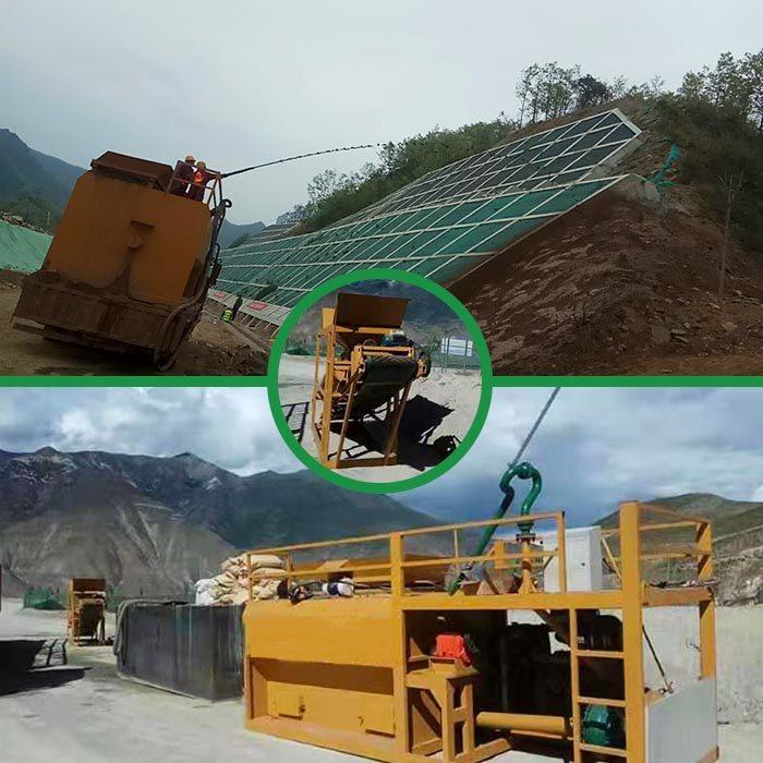 七臺河綠化草籽噴播機噴播設備