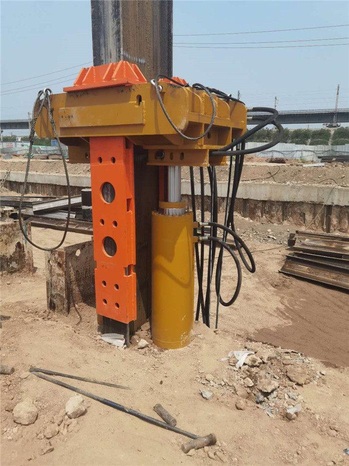 红河工法桩型钢起拔器