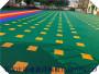 新疆烏魯木齊新市軟連接籃球場懸浮拼裝地板廠家批發價