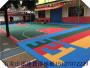 河北邢台新河城建篮球场大米格拼装地板来电下单赠送辅料
