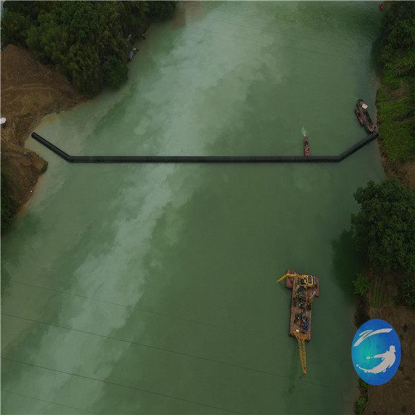 婁底市過河水下管道安裝公司—水中鋪管