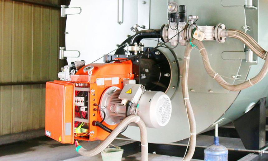 唐山市六噸燃氣模塊蒸汽鍋爐--熱效率高 出氣快 節能低氮