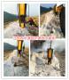 西寧挖地基工程采用大霹靂劈裂棒√提前完工