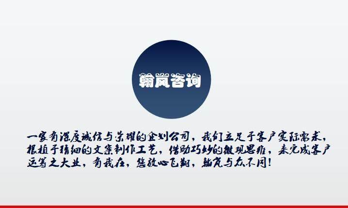 青海省項目商業計劃書制作翰嵐匠工服務優