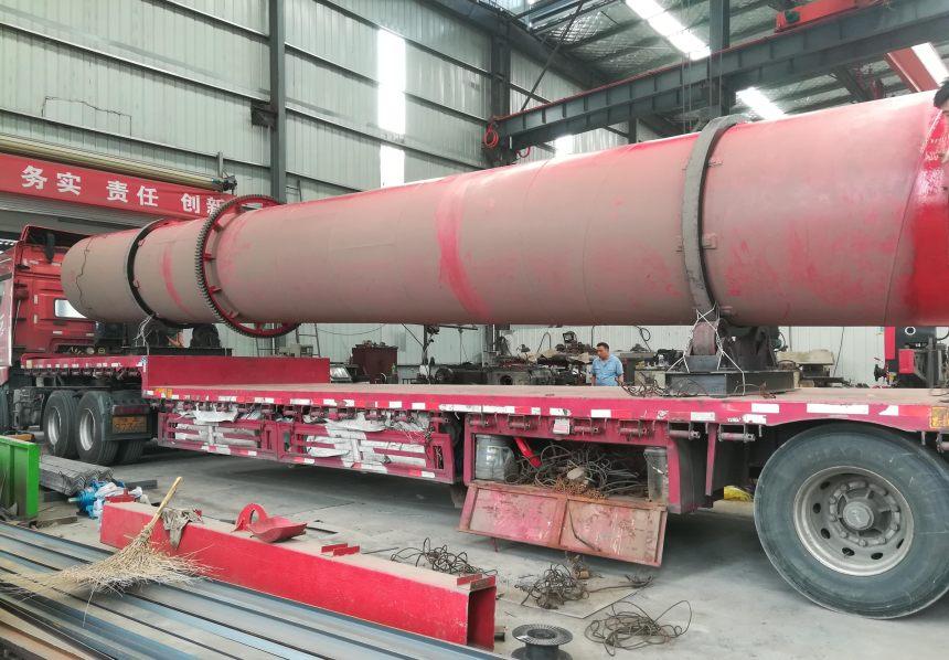 2021歡迎訪問##廣東 大量回收2.2米×18米滾筒烘干機##實業集團