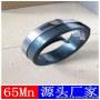 蚌埠抛光烤蓝65Mn弹簧钢带/发蓝锰钢带