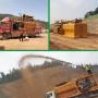 貴州遵義礦山綠化噴漿機