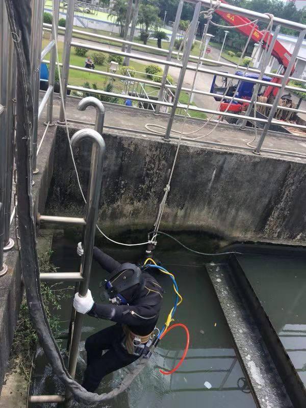 霍城縣潛水錄像--水下作業零事故